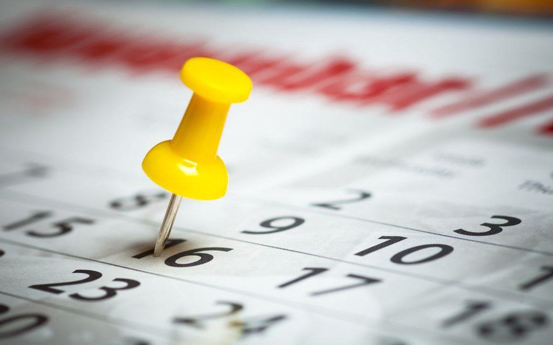 Calendario provisional PIIISA 2017/2018