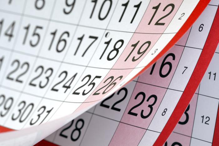 Calendario provisional PIIISA 2018/2019