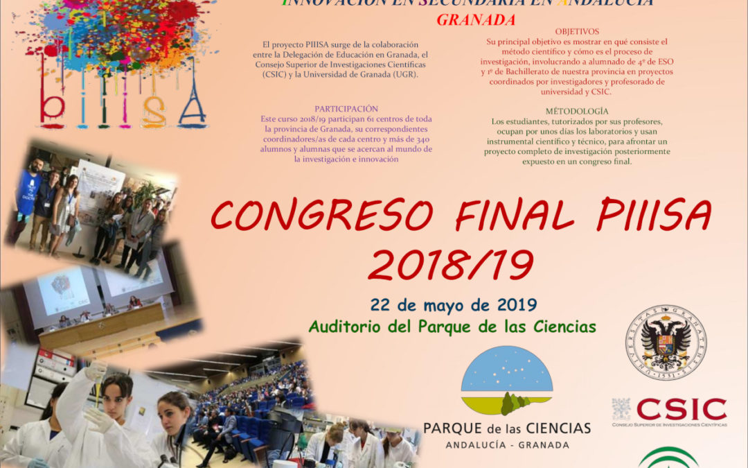 Congreso Final PIIISA 2018/19