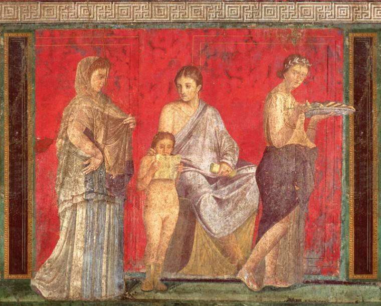 34A – Pintando como artistas romanos. Química, técnicas y problemas de conservación.