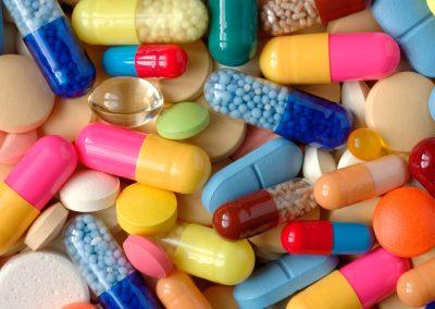 8D – Proceso de obtención de un fármaco en el laboratorio de investigación
